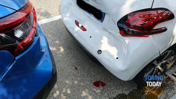 Torino incidente strada Francese 23 7 19 2-2