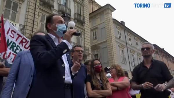 """Cirio boccia la ministra Azzolina: """"Hanno pensato prima al campionato di calcio e non alla scuola"""""""