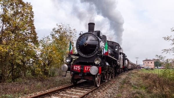 Da Torino il treno a vapore per la Fiera del Tartufo di Canelli