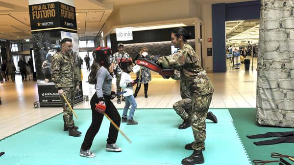 Le Gru ospita l'Esercito Italiano: tante attività per tutti