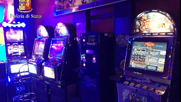 Le slot machines sequestrate