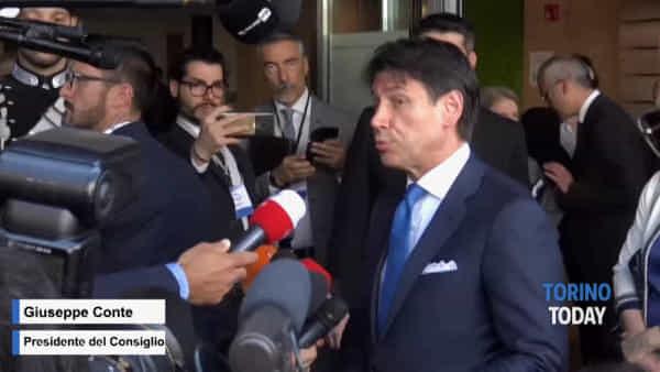 """Appalti, da Torino l'appello del Premier Conte alla Lega: """"Il tempo è poco"""""""
