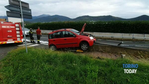 Balangero incidente Panda guardrail sp 2 21 9 20 1-2