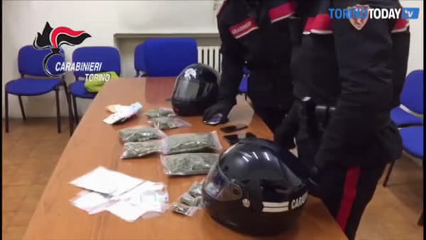 Scoperta banda di baby pusher: sequestrata marijuana e 650 euro in contanti