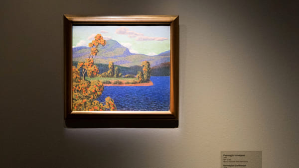 """La luce del Nord"", Konrad Mägi ai Musei Reali"