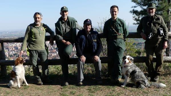 ricerca bocconi avvelenato parco monte San Giorgio Nucleo Cinofilo Antiveleno Regione Piemonte  (3)-2