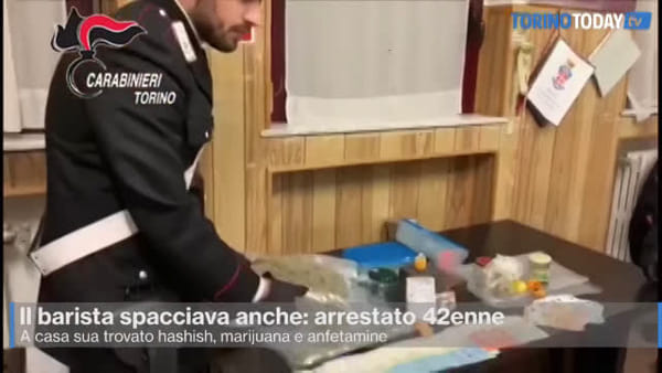 Barista e spacciatore: in casa aveva hashish, marijuana e anfetamine
