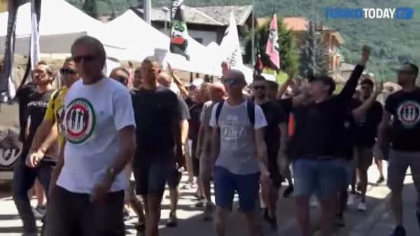 Da tutta Italia per la Juve e Ronaldo: la festa dei tifosi a Villar Perosa | Video
