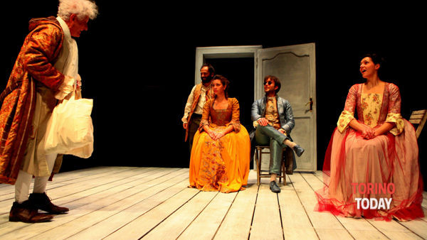 """""""Gl'innamorati"""" di Carlo Goldoni al teatro Superga"""