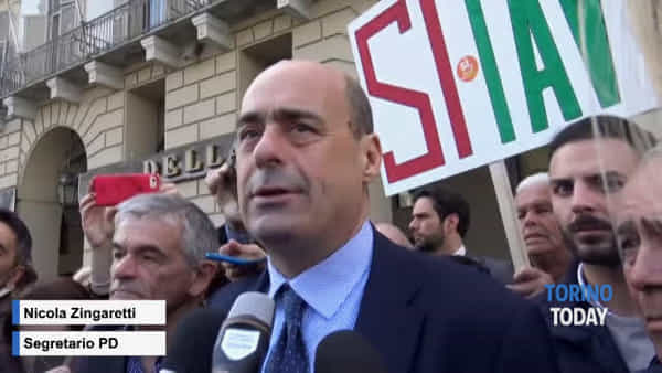 """Chiamparino incassa l'appoggio di Zingaretti: """"Tav simbolo di un Paese in ginocchio"""""""