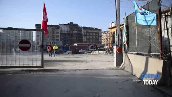 Lingotto-Bengasi, incrociano le braccia gli operai del cantiere della linea 1 della metro