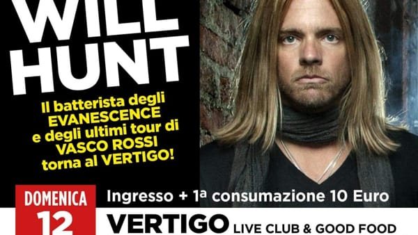 Il tour di Will Hunt al Vertigo di Pianezza