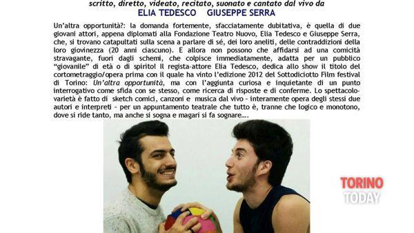 """Spettacolo """"Un'altra opportunita"""" al Teatro Erba"""