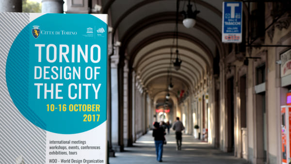"Torino ha ospitato a ottobre ""Design of the city"""