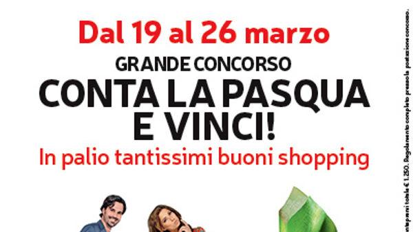 Conta la Pasqua e vinci al Centro Commerciale Piazza Paradiso