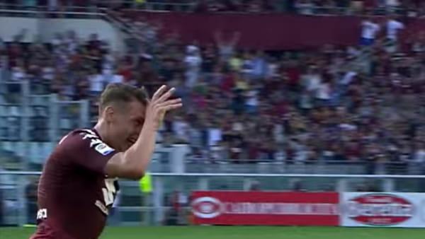 Video gol e sintesi partita Torino-Sassuolo 3-2: Bourabia, Belotti, Lirola, Zaza, Belotti