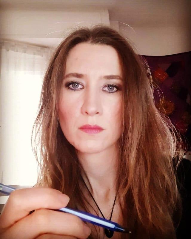 L'autrice Barbara Perucca