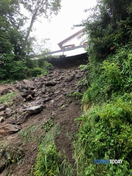 Villardora strada sp 197 chiusa al traffico 1