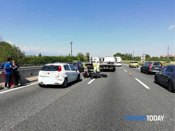 Rivoli incidente Punto Punto Moto 1 5 19 1