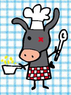 L'asino in cucina