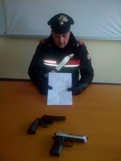 folle-pistole-lettera-inseguimento-carabinieri-settimo-brandizzo-santhià-180406-2